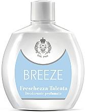 Voňavky, Parfémy, kozmetika Breeze Freschezza Talcata - Parfumovaný dezodorant