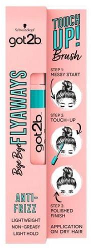 Prostriedok na styling tenkých vlasov - Schwarzkopf Got2b Bye Bye Flayaways Touch Up Brush — Obrázky N1