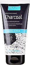Voňavky, Parfémy, kozmetika Peeling pre hĺbkové čistenie pokožky - Beauty Formulas Charcoal Facial Scrub