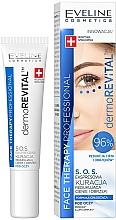 Voňavky, Parfémy, kozmetika Express-sérum na pokožku očného okolia proti tmavým kruhom a opuchom - Eveline Cosmetics Face Therapy Professional SOS DermoRevital