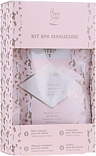 Voňavky, Parfémy, kozmetika Sada - Peggy Sage Spa Manucure Kit (bath/caviar/20g + peeling/gel/15ml + h/masque/15ml + h/cr/15ml)