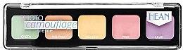 Voňavky, Parfémy, kozmetika Paleta krémových korektorov - Hean Photo Camouflage Cream Concealer Palette