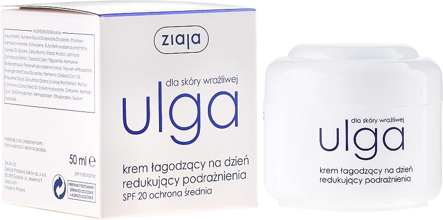 Krém na tvár denný upokujujúci - Ziaja Face Cream Soothing Day