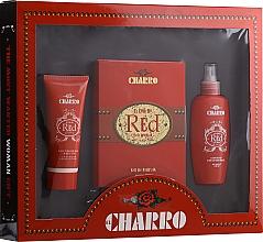 Voňavky, Parfémy, kozmetika El Charro Red - Sada (edp/100ml + b/cr/100ml + deo/100ml)