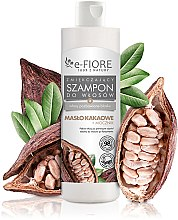 Voňavky, Parfémy, kozmetika Šampón na vlasy s kakaovým maslom a močovinou - E-Fiori