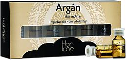 Voňavky, Parfémy, kozmetika Arganový elixír v ampulkách - PostQuam Argan Fragile Hair Elixir