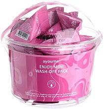 Voňavky, Parfémy, kozmetika Maska s kalamínovým púdrom pre mastnú pleť - Ayoume Enjoy Mini Wash-Off Pack