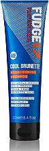 Voňavky, Parfémy, kozmetika Šampón na tónovanie vlasov - Fudge Cool Brunette Blue-toning Shampoo Reviews