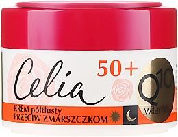 Voňavky, Parfémy, kozmetika Krém proti vráskam - Celia Q10 Vitamin 50+