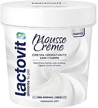 Voňavky, Parfémy, kozmetika Krém na tvár a telo - Lactovit Mousse Creme
