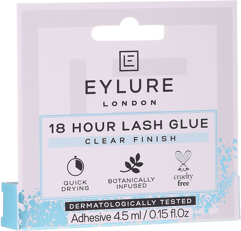Lepidlo na umelé riasy - Eylure 18 Hour Lash Glue Clear Finish