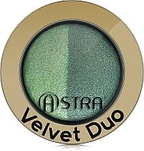 Voňavky, Parfémy, kozmetika Očné tiene - Astra Make-up Velvet Duo Eyeshadow