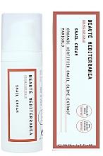Voňavky, Parfémy, kozmetika Omladzujúci revitalizačný krém na tvár so slimačím mucínom - Beaute Mediterranea Snail Cream