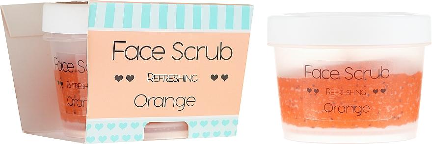 """Scrub na tvár a pery """"Pomaranč"""" - Nacomi Refreshing Face Orange"""