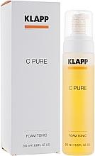 Voňavky, Parfémy, kozmetika Pena-tonikum na tvár - Klapp C Pure Tonic