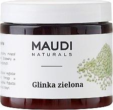 Voňavky, Parfémy, kozmetika Zelená hlina na tvár - Maudi