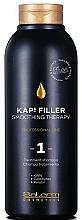 Voňavky, Parfémy, kozmetika Šampón-terapia na vyhladenie vlasov č. 1 - Salerm Kaps Filler Smoothing Therapy Shampoo