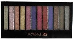 Voňavky, Parfémy, kozmetika Paleta tieňov na viečka, 12 odtieňov - Makeup Revolution Redemption Palette Unicorns Are Real