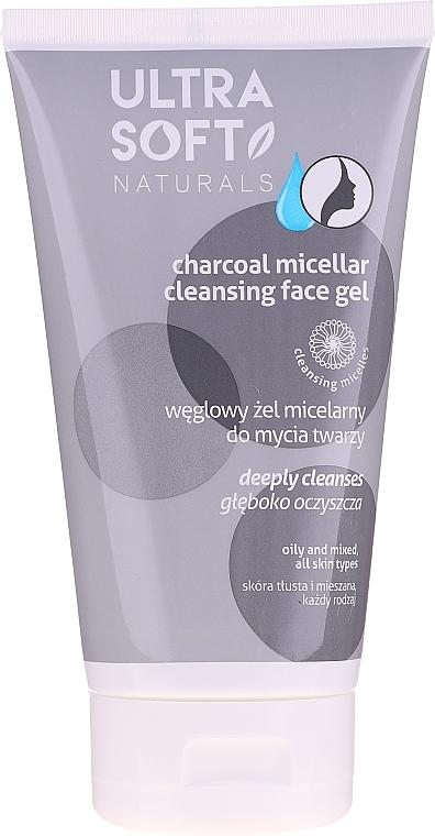 Uhlíkový micelárny gél na umývanie - Tolpa Ultra Soft Micellar Face Gel