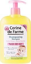 Voňavky, Parfémy, kozmetika Jemný šampón s mandľovým kvetom - Corine de Farme Baby