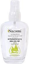 Voňavky, Parfémy, kozmetika Antibakteriálny sprej na ruky v sklenenej fľaši - Nacomi Antibacterial Liquid Hand Sanitizer