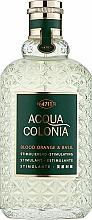 Voňavky, Parfémy, kozmetika Maurer & Wirtz 4711 Acqua Colonia Blood Orange & Basil - Kolínska voda