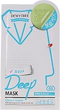 Voňavky, Parfémy, kozmetika Hydratačná pleťová maska - Dewytree Aqua Deep Mask