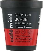 """Voňavky, Parfémy, kozmetika Zohrievajúci scrub ne telo """"Proticelulitídový"""" - Cafe Mimi Body Hot Scrub Anticellulite"""