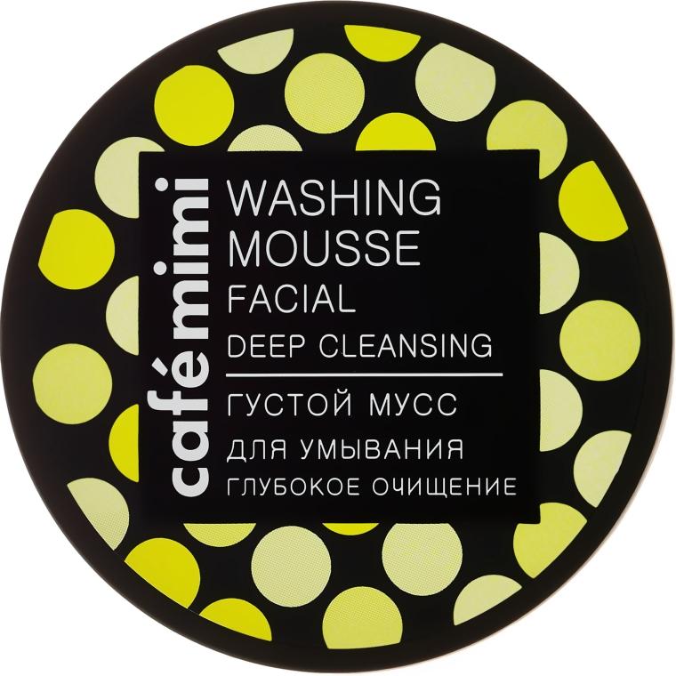"""Hustá umývacia pena """"Hlboké čistenie"""" - Cafe Mimi Washing Mousse Facial Deep Cleaning"""