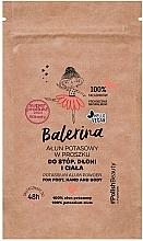 Voňavky, Parfémy, kozmetika Prášok na nohy, ruky a telo - Floslek Balerina Potassium Alum Powder For Foot, Hand And Body