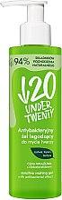 Voňavky, Parfémy, kozmetika Antibakteriálny čistiaci gél na umývanie - Under Twenty Anti Acne Sensetive Washing Gel With Antibacterial Effect