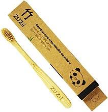 Voňavky, Parfémy, kozmetika Detská zubná kefka s mäkkými béžovými štetinami - Zuzii Kids Soft Toothbrush