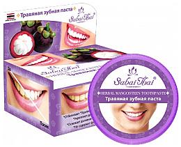 Voňavky, Parfémy, kozmetika Zubná pasta s mangostanom - Sabai Thai Herbal Mangosteen Toothpaste