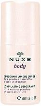 Voňavky, Parfémy, kozmetika Guľôčkový dezodorant - Nuxe Body Long-Lasting Deodorant