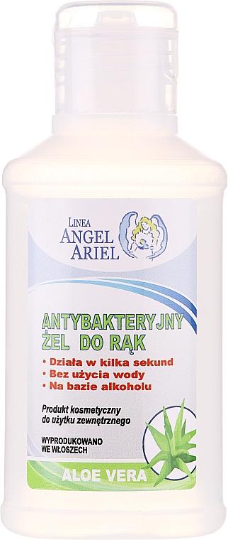 Antibakteriálny gél na ruky s extraktom z aloe vera - Linea Angel Ariel Antibacterial Hand Gel Aloe Vera
