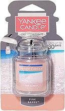 Voňavky, Parfémy, kozmetika Gélová aróma do auta - Yankee Candle Car Jar Ultimate Pink Sands