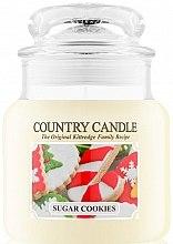 Voňavky, Parfémy, kozmetika Vonná sviečka - Country Candle Sugar Cookies