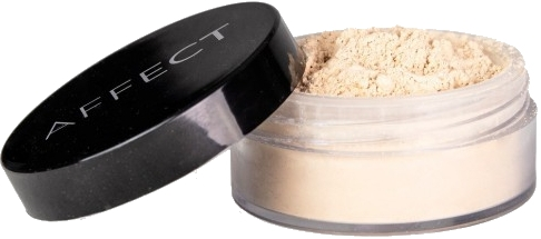 Sypký púder na tvár - Affect Cosmetics Mineral Loose Powder Soft Touch — Obrázky N1