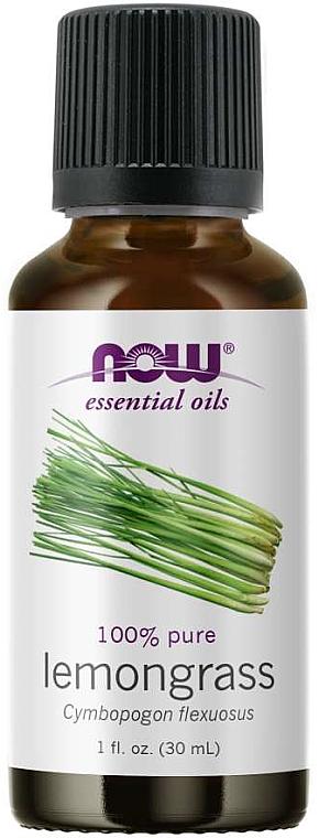 Esenciálny olej z citrónovej trávy - Now Foods Essential Oils 100% Pure Lemongrass