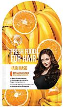 """Voňavky, Parfémy, kozmetika Maska """"Banán a pomaranč"""" na poškodené vlasy - Superfood For Skin Fresh Food For Hair"""