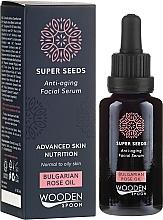 Voňavky, Parfémy, kozmetika Sérum na tvár - Wooden Spoon Super Seeds Bulgarian Rose Oil Anti-aging Facial Serum