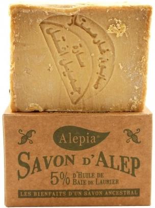 Mydlo s vavrínovým olejom, 5% - Alepia Soap 5% Laurel