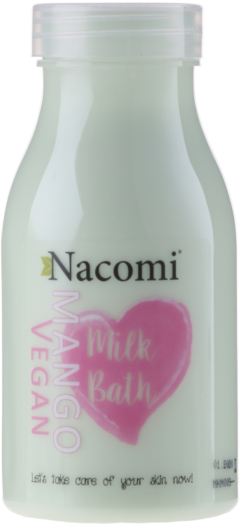 "Kúpeľové mlieko ""Mango"" - Nacomi Milk Bath Mango"