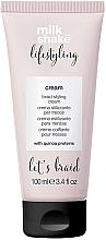 Voňavky, Parfémy, kozmetika Stylingový krém na vlasy - Milk Shake Lifestyling Braid Styling Cream
