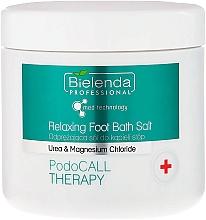 Voňavky, Parfémy, kozmetika Soľ na nohy - Bielenda PodoCall Therapy Relaxing Foot Bath Salt