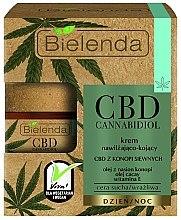 Voňavky, Parfémy, kozmetika Hydratačný a uspokojujúci krém na tvár - Bielenda CBD Cannabidiol Cream