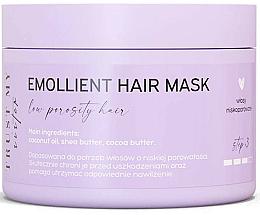 Voňavky, Parfémy, kozmetika Zjemňujúca maska na vlasy s nízkou pórovitosťou  - Trust My Sister Low Porosity Hair Emollient Mask
