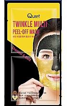 Voňavky, Parfémy, kozmetika Exfoliačná maska - Quret Twinkle Multi Peel-Off Mask