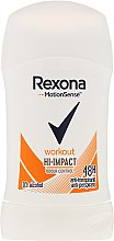 Voňavky, Parfémy, kozmetika Dezodorant-stick - Rexona Motionsense Workout Hi-impact 48h Anti-perspirant