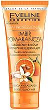 Voňavky, Parfémy, kozmetika Intenzívne spevňujúci balzam na telo, zázvor, pomaranč - Eveline Cosmetics Spa Prof